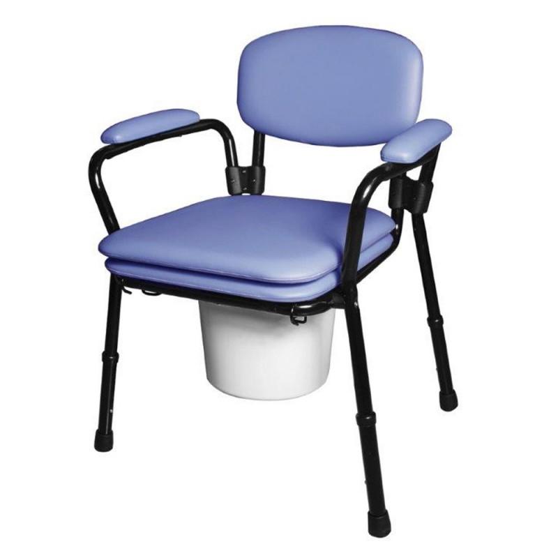 AC-520 Καρέκλα WC, με επένδυση αφρολέξ