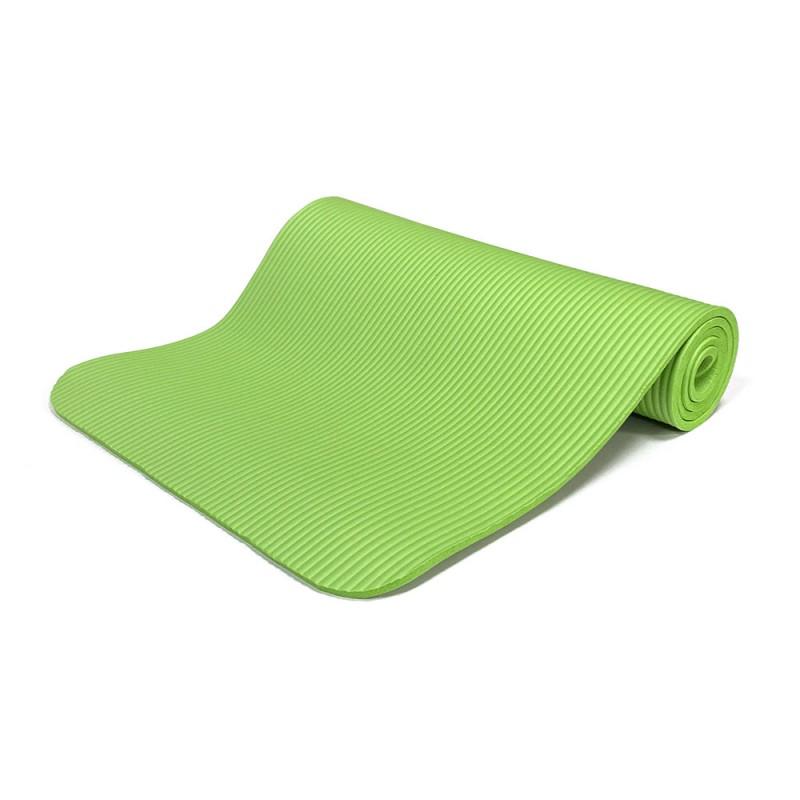 Rea NBR Στρώμα yoga 183 x 61 x 1 cm, Πράσινο