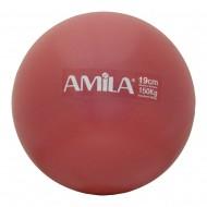 AMILA Μπάλα Pilates Ø19cm, Κόκκινο