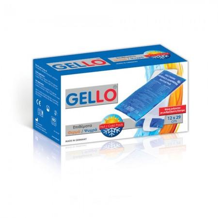 GELLO Επίθεμα Gel ζεστό / κρύο 12 x 29cm