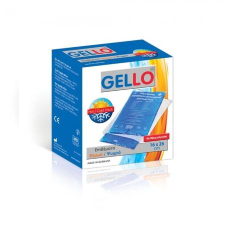 GELLO Επίθεμα Gel ζεστό / κρύο 16 x 26cm