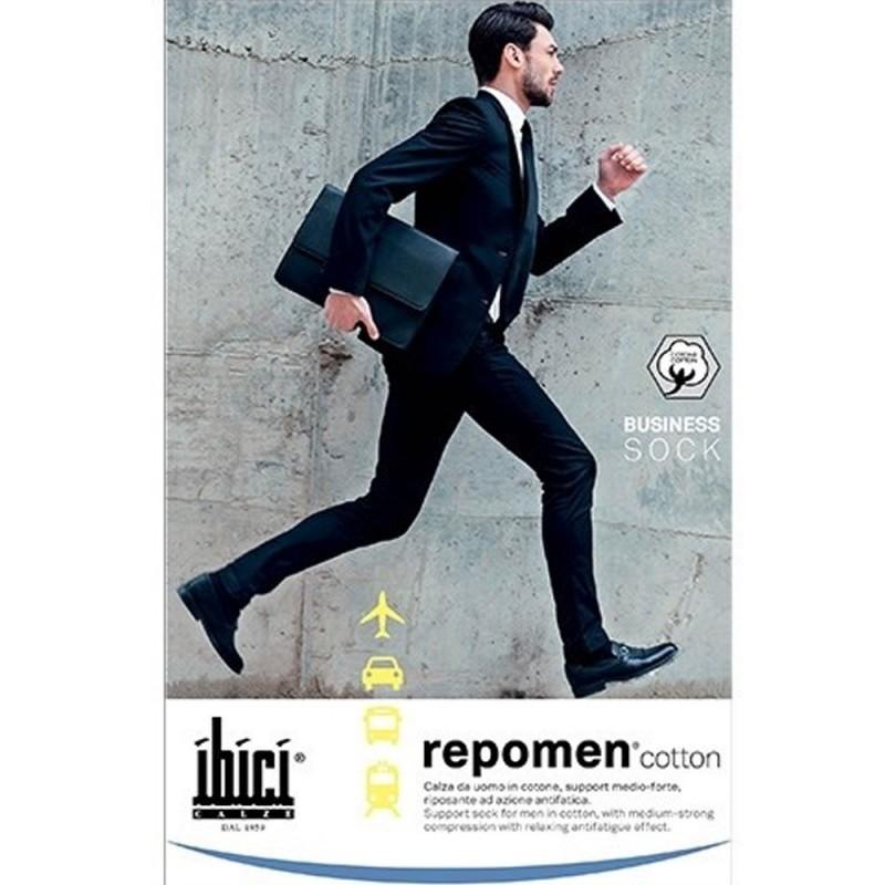 Ibici Repomen Κάλτσες κάτω γόνατος mm Hg 16-20, Ανδρικές, κλειστά δάκτυλα