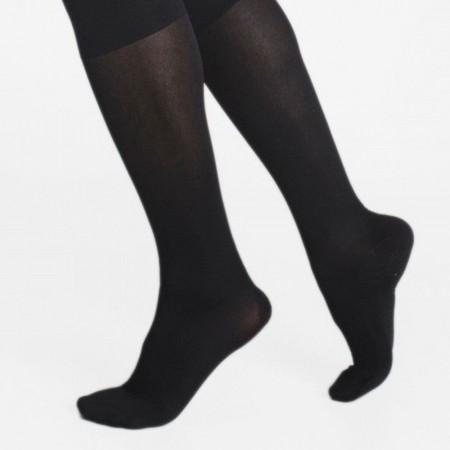 Ibici Skywalk Κάλτσες κάτω γόνατος mm Hg 16-20, Unisex, κλειστά δάκτυλα, Nero