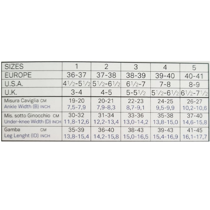 Ibici Segreta Κάλτσες κάτω γόνατος 140 DEN mm Hg 18-22, Γυναικείες, ανοικτά δάκτυλα