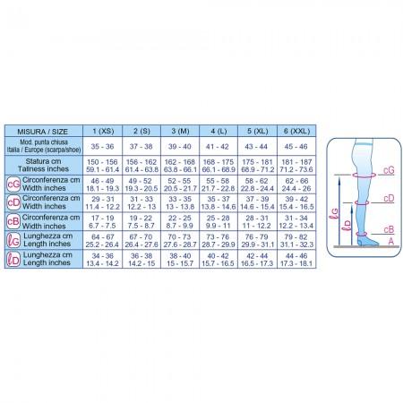 Scudovaris Καλσόν 407 K1 (mm Hg 18-21), ανοιχτά δάκτυλα, μπέζ-φυσικό