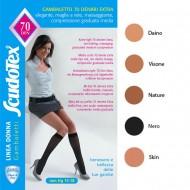 Scudotex Κάλτσες κάτω γόνατος 478 70 DEN (mm Hg 15-18), κλειστά δάκτυλα