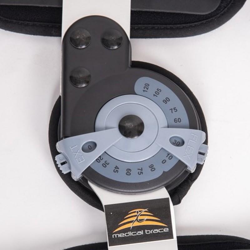 MB 9000 Premium Short Νάρθηκας μηροκνημικός λειτουργικός με γωνιόμετρο
