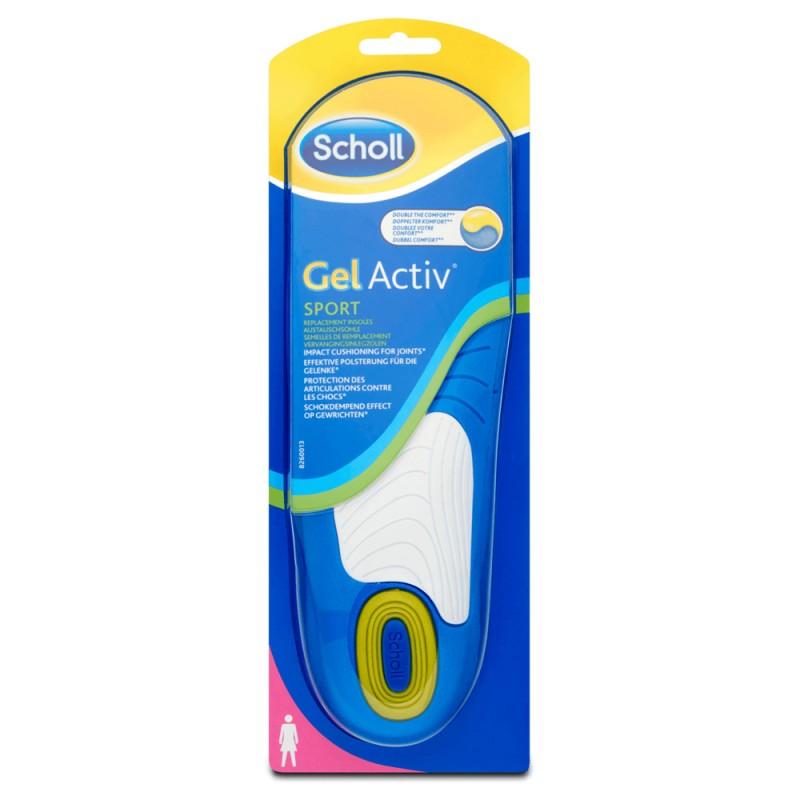 Scholl Gel Activ Sport, Γυναικεία αθλητικά πέλματα γέλης, 35-40.5