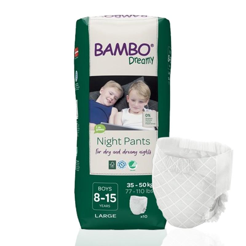 Bambo Dreamy πάνα βρακάκι νυκτός Boys 35-50kg, συσκευασία, 1τεμ.