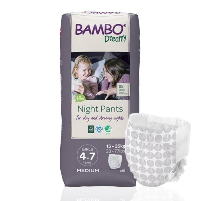 Bambo Dreamy πάνα βρακάκι νυκτός Girls 15-35kg, συσκευασία, 1τεμ.