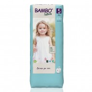 Bambo Nature Tall πάνα no5 (12-18kg), οικονομική συσκευασία 3x44τεμ.