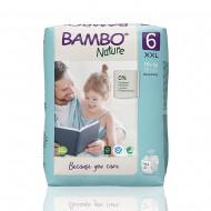 Bambo Nature πάνα no6 (16+kg), συσκευασία 20 τεμ.