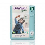 Bambo Nature πάνα βρακάκι no5 12-18kg, συσκευασία 19 τεμ.