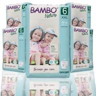 Bambo Nature πάνα βρακάκι no6 18+kg, οικονομική συσκευασία 5x18τεμ.