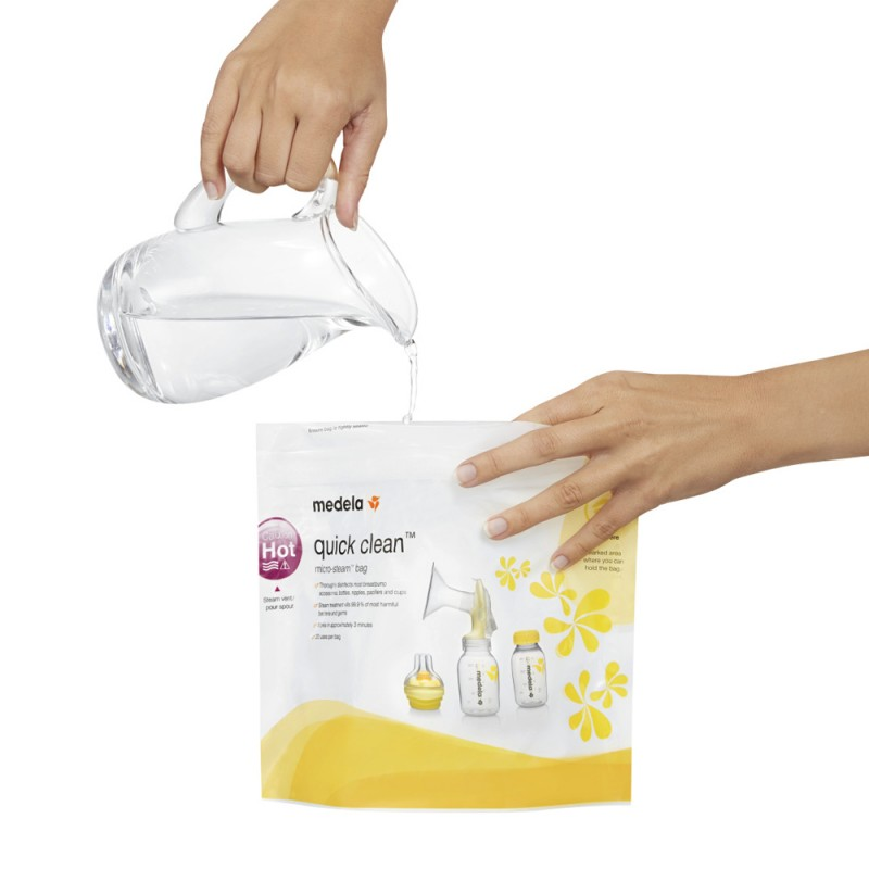 Medela Quick Clean σακουλάκια αποστείρωσης φούρνου μικροκυμάτων