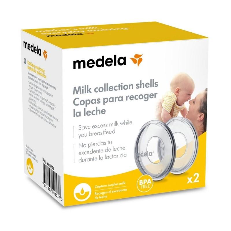 Medela Collection Shells κελύφη συλλογής μητρικού γάλακτος 2 τεμ.