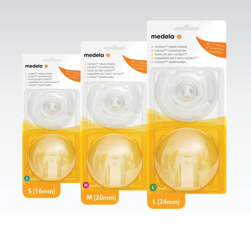 Medela Contact Nipple Shields ψευδοθηλές 2 τεμ.