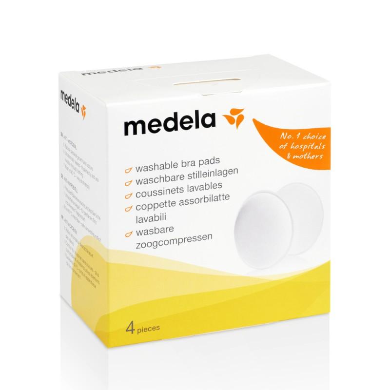 Medela Washable Bra Pads πλενόμενα επιθέματα θηλασμού 4 τεμ.