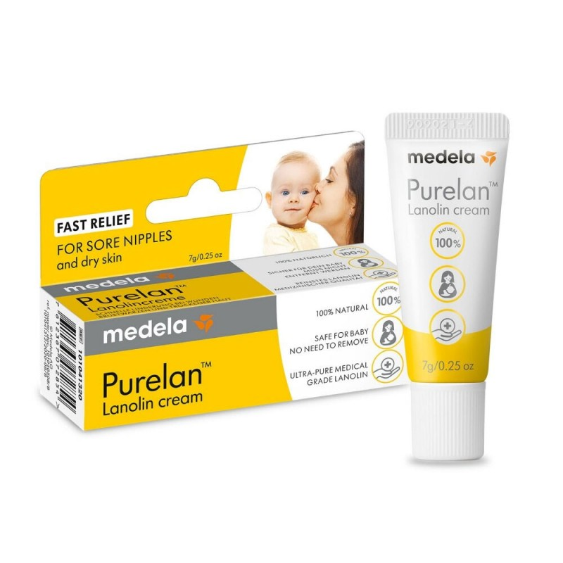 Medela PureLan™ 100 κρέμα λανολίνης θηλών 7gr