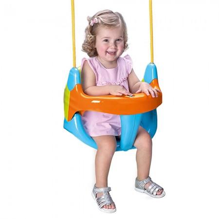 Κούνια με αποσπώμενο κάθισμα ασφαλείας