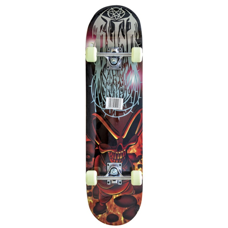 AMILA Skateboard Skatebird Skull, 78,5x20x9