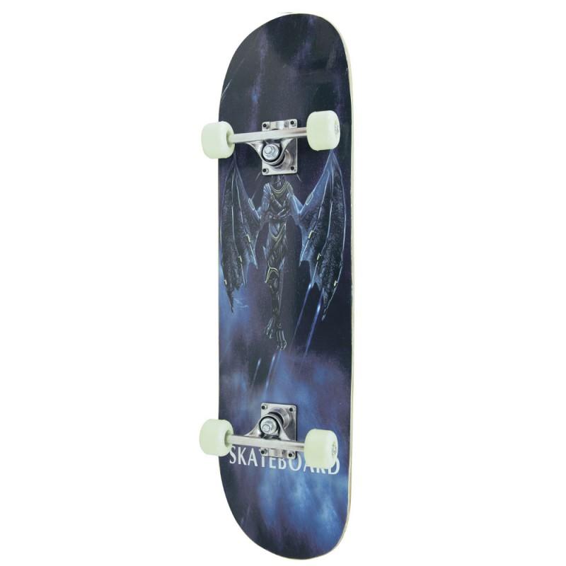 AMILA Skateboard Skatebird Dark Angel, 78,5x20x9