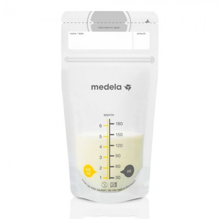 Medela Ασκοί (Σακουλάκια) φύλαξης μητρικού γάλακτος 25τεμ 180ml
