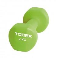 Βαράκι Neoprene 2kg Πράσινο Toorx