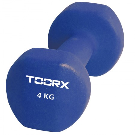 Βαράκι Neoprene 4kg Μπλε Toorx