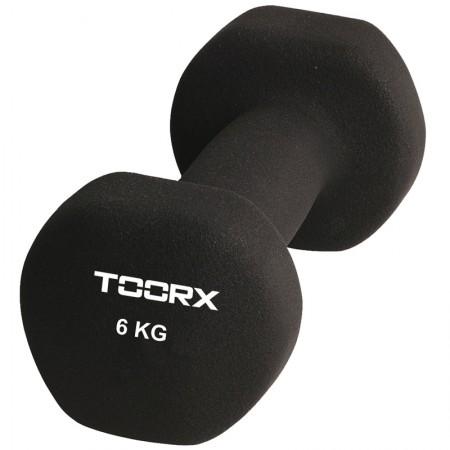 Βαράκι Neoprene 6kg Μαύρο Toorx