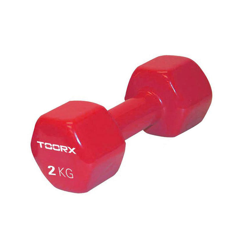 Βαράκι Βινυλίου 2kg Κόκκινο Toorx