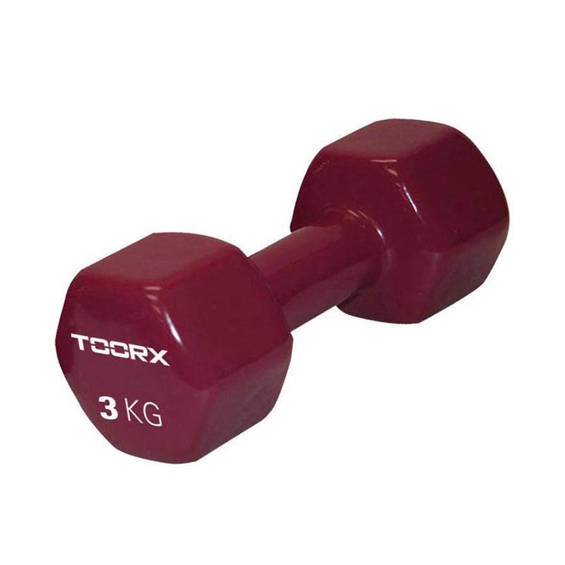 Βαράκι Βινυλίου 3kg Μπορντό Toorx