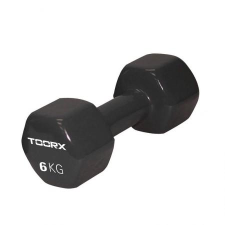 Βαράκι Βινυλίου 6kg Μαύρο Toorx