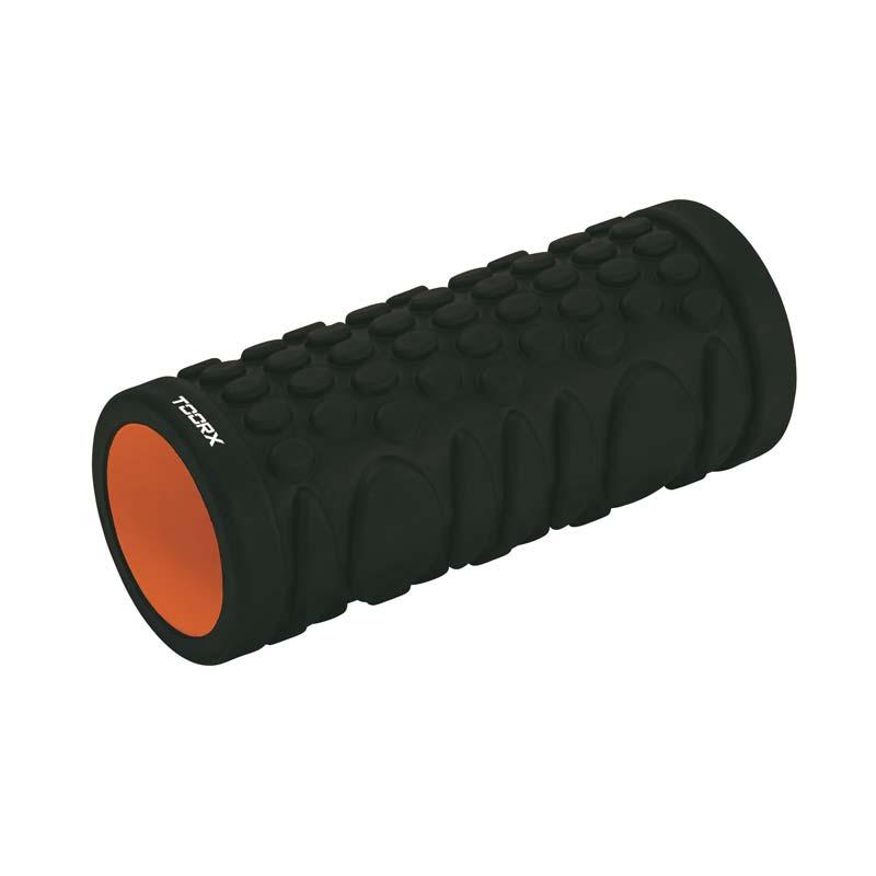 Μαύρο Foam Roller Κύλινδρος Ισορροπίας Toorx