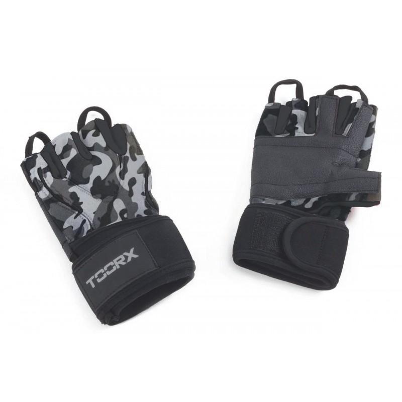 Γάντια (AHF-244) -M- Μαύρο - Περικάρπιο arctic camouflage - TOORX