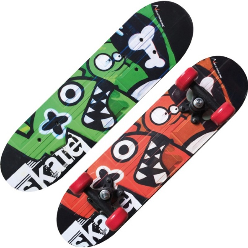 TRIBE MONSTERS-maple Skateboard-Nextreme