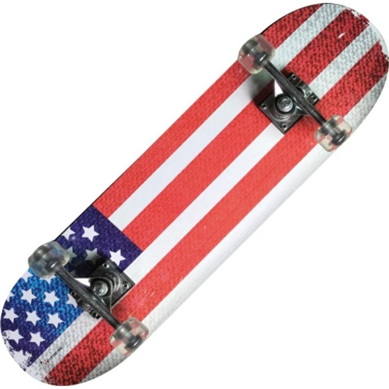 TRIBE PRO (USA FLAG)-maple Skateboard-Nextreme
