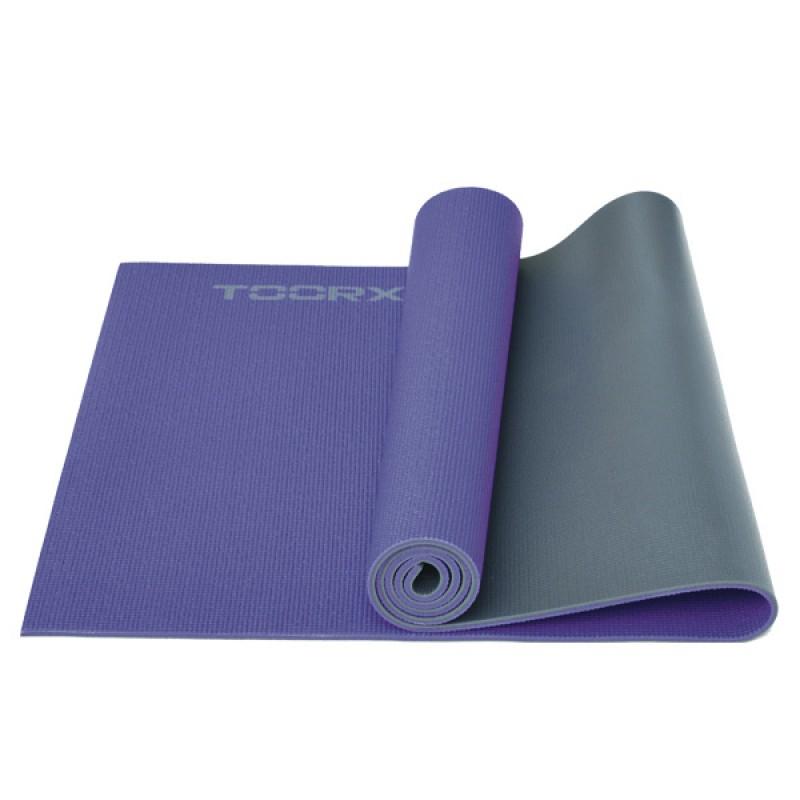 Στρώμα Yoga (MAT-177) Μωβ/γκρι-Toorx