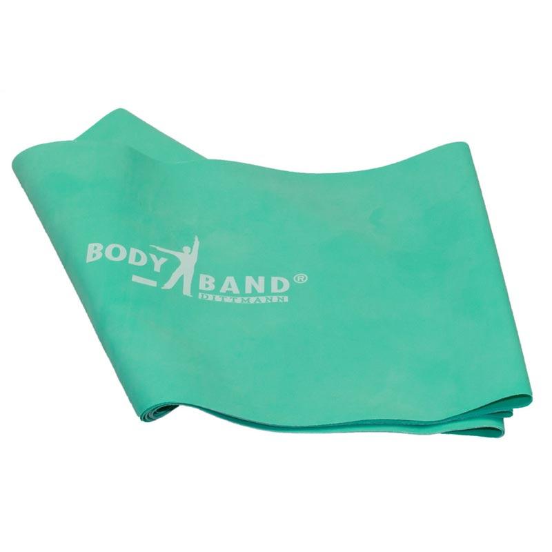 Λάστιχο Γυμναστικής Μέτριο Κορδέλα GM BODY BAND 2.5m x 14.5cm Πράσινο