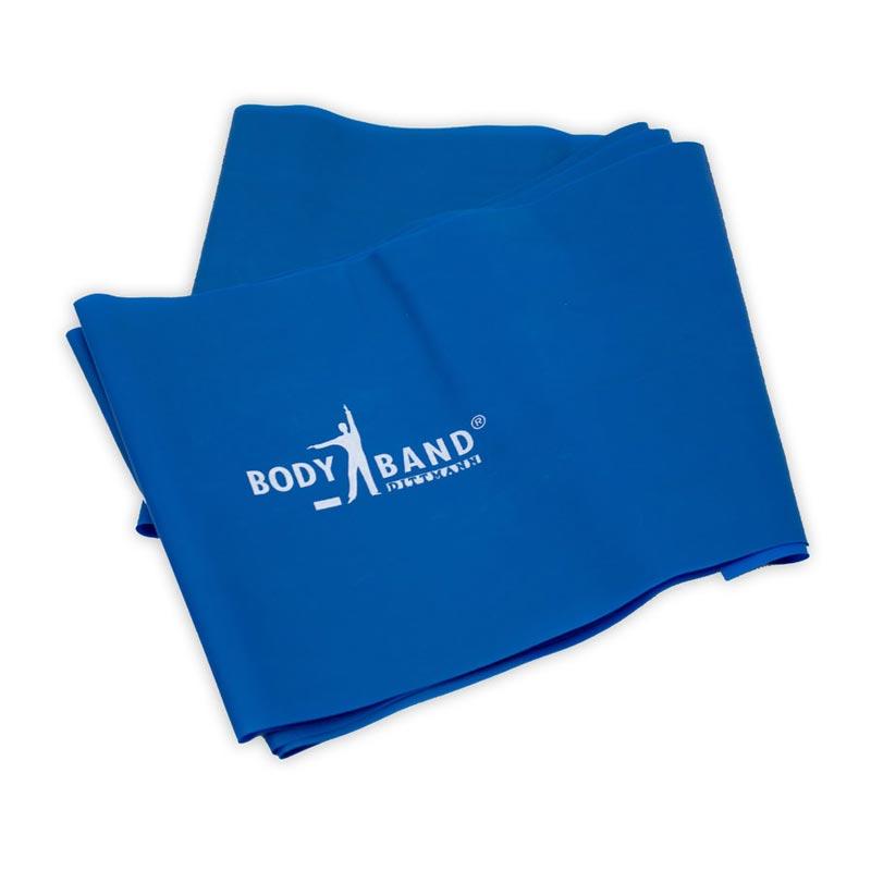 Λάστιχο Γυμναστικής Σκληρό Κορδέλα GM BODY BAND 2.5m x 14.5cm Μπλε