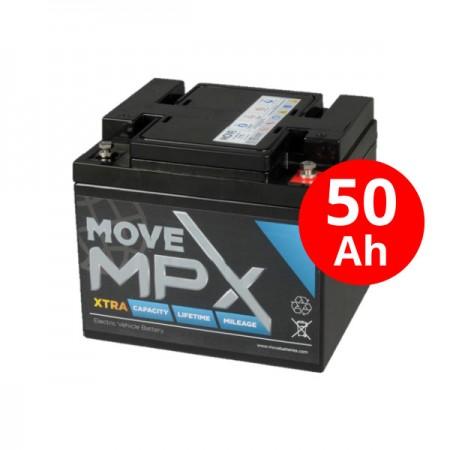 Μπαταρία AGM MPX 50-12 (55Ah-C20/12V)