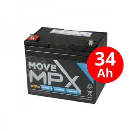 Μπαταρία AGM MPX 34-12 (36Ah-C20/12V)