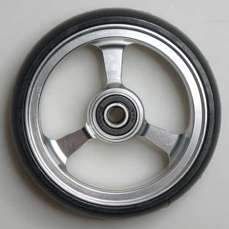 "Recomedic 100x25mm 4"" τροχός αλουμινίου"