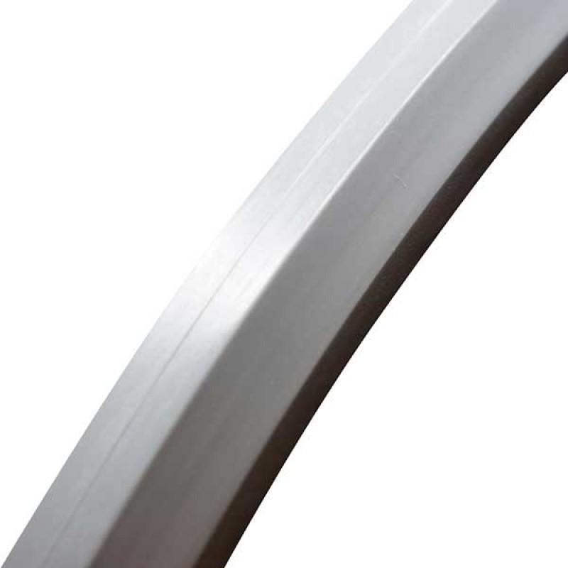 "24x1"" (25x540) συμπαγές ελαστικό με ίσιο πέλμα"